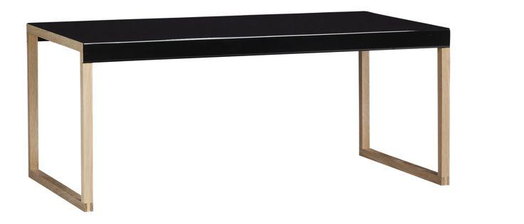 Habitat kilo table basse ch ne et m tal noir d co pinterest - Table basse kilo habitat ...