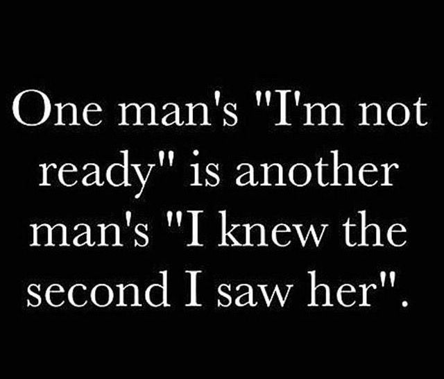 The difference is not in her but in finally finding the man that is truly meant for her!