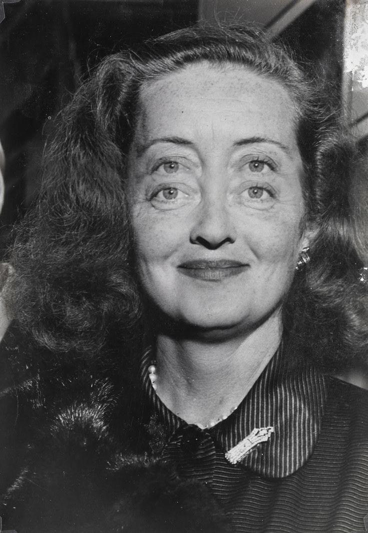 Weegee ~ Bette Davis, 1950