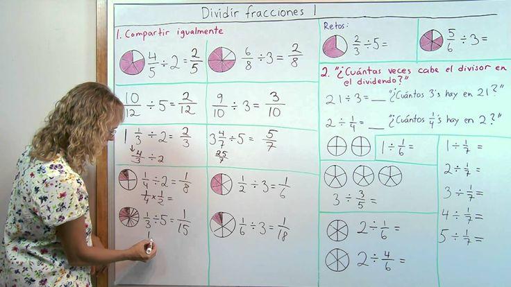 Dividir fracciones: cálculo mental