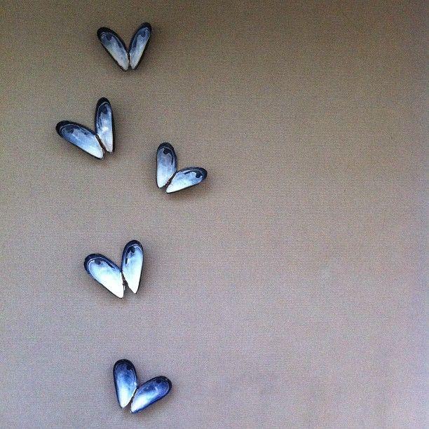 Mosselen op de muur!