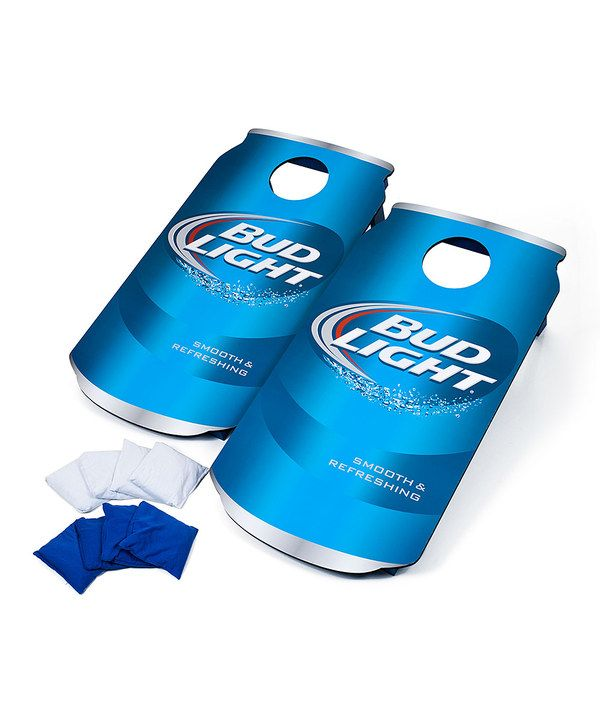 Look at this Bud Light Can Cornhole Bean Bag Toss Game on #zulily today!