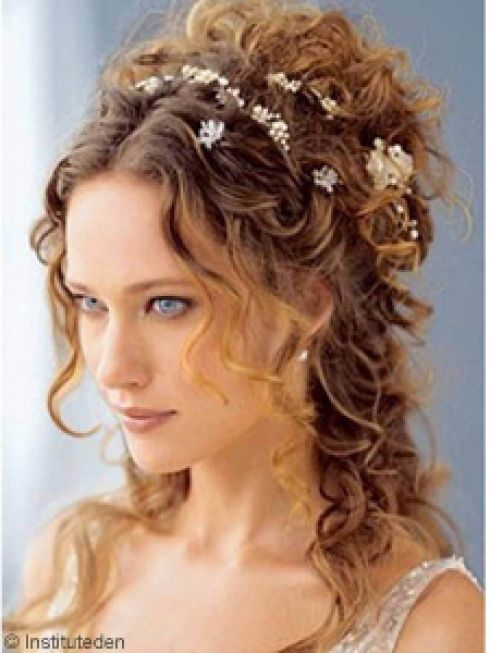 Image result for coiffure de bal cheveux long