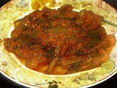 Οι Θησαυροί Της Κουζίνας: Μπάμιες αλάδωτες με πιπεριές