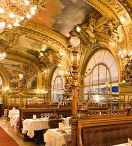 Le Train Bleu - Restaurants à Paris - Elle