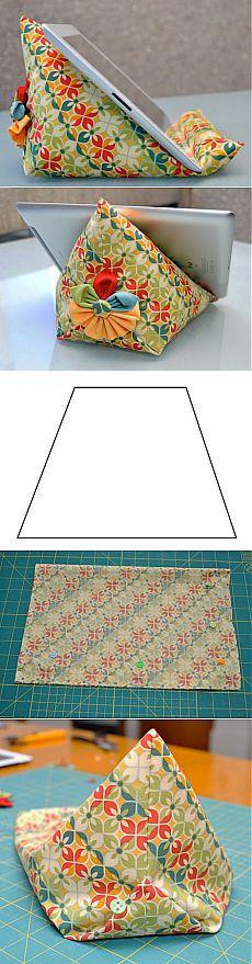 Мастер-класс: подушка-подставка для планшета | LHM | Made by hands...