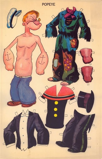 Popeye the Sailor Man appeared in the daily King Features comic strip Thimble Theatre in 1929.