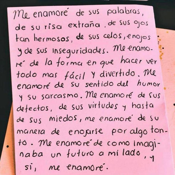 """22 Me gusta, 1 comentarios - @amor_desamor_otros en Instagram: """"Me enamore"""""""