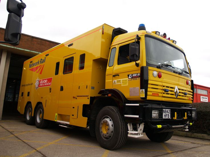◆Renault Premium Road/Rail Rescue Truck For The Severn Tunnel - Owned by Network Rail And Operated by Avon & Somerset Fire Service◆