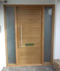 Modern Wooden Front Doors Contemporary oak front doors