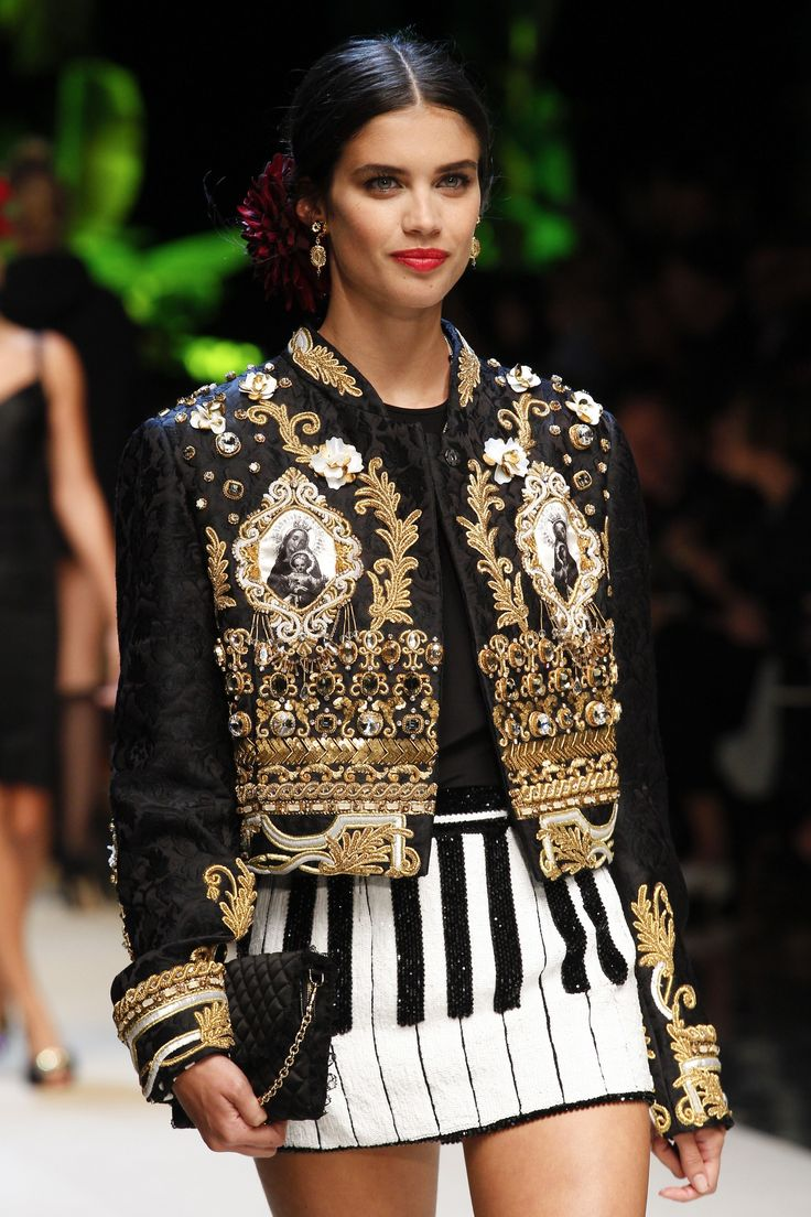 D&G Milan Fashion Show