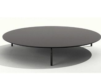 Verre Table basse ronde CRUISE |  Table basse ronde - Lema