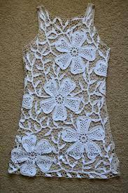 Αποτέλεσμα εικόνας για Laura Biagiotti Crocheted Tunic Over White Dress
