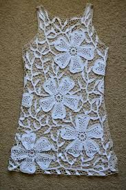 Αποτέλεσμα εικόνας για Laura Biagiotti Crocheted Tunic Over White Dress
