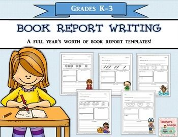 These monthly book report templates are a great way to get little ones to write about the books they are reading.They rate the book by coloring in an object (monthly themed), writing down the character(s), setting(s), a brief summary/sentence about the book, and drawing a picture of their favorite part.Monthly themes are seasonal - not holiday related (Ex.