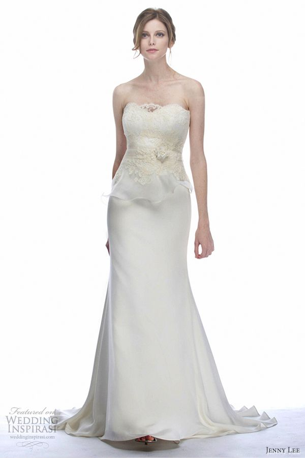 Jenny Lee Wedding Dresses Fall 2012 | Wedding Inspirasi
