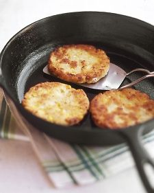 Mexican Corn Cakes - You can find masa harina, Mexican corn flour, in the ethnic section of many supermarkets. Cotija, also known as queso anejado, is a crumbly, aged white cheese; look for it in specialty-food stores or Mexican or Latin markets.