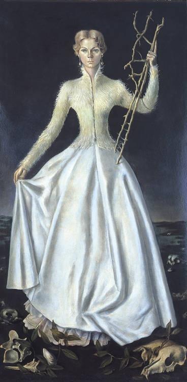 La Fée (1955) by Leonor Fini (Argentinian 1907 – 1996)