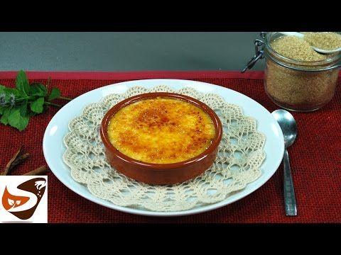 Crema catalana, ricetta originale facile e veloce – Dolci al cucchiaio - YouTube