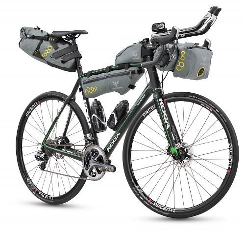 Mark Beaumont's Koga Solacio for Cairo to Cape Town record attempt starting today - video | road.cc