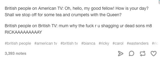22 Genuinely Funny Tumblr Posts About Britain