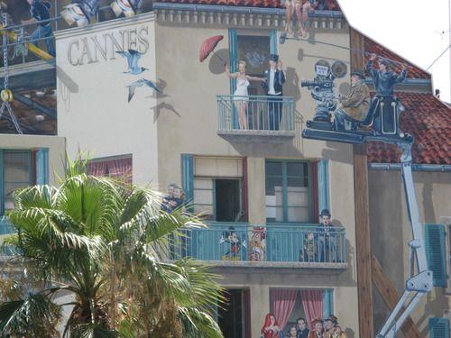 De muurschilderingen van Cannes; onbekende bezienswaardigheden aan de Cote d'Azur - deel 1 - Plazilla.com