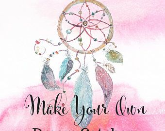 dream catcher kit make a dreamcatcher dream catcher mobile diy dream catcher diy do-it-yourself mini dream catcher boho house decor