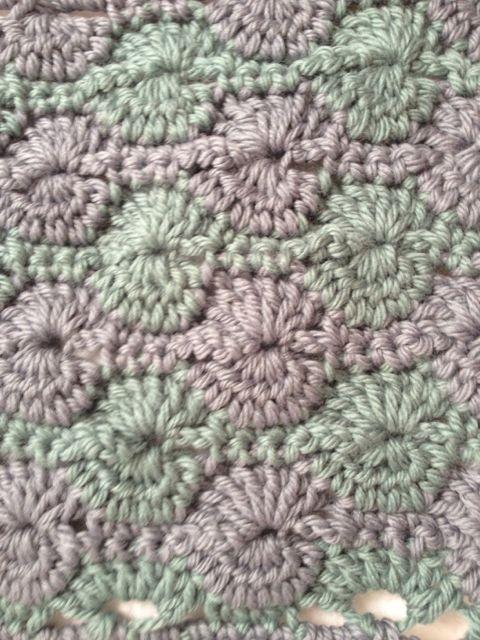 catherine wheel stitch crochet Pinterest