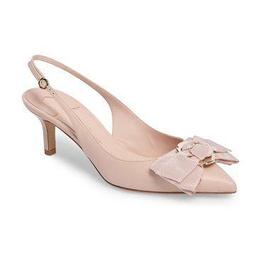 laterina slingback pump by Salvatore Ferragamo.  #salvatoreferragamo #nudeshoes #pumps #heels