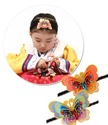 Butter fly baesi daenggi  Korean ribbon hairband  12USD Free shipping to any country.  Here are all size all type hanbok  http://stores.ebay.com/Fairy-closet