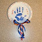 Handprint Wall Hanging Craft