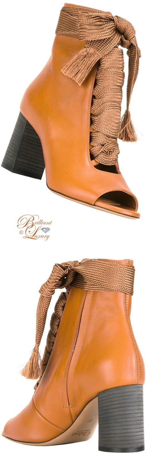 Brilliant Luxury by Emmy DE ♦ Chloé Harper Booties