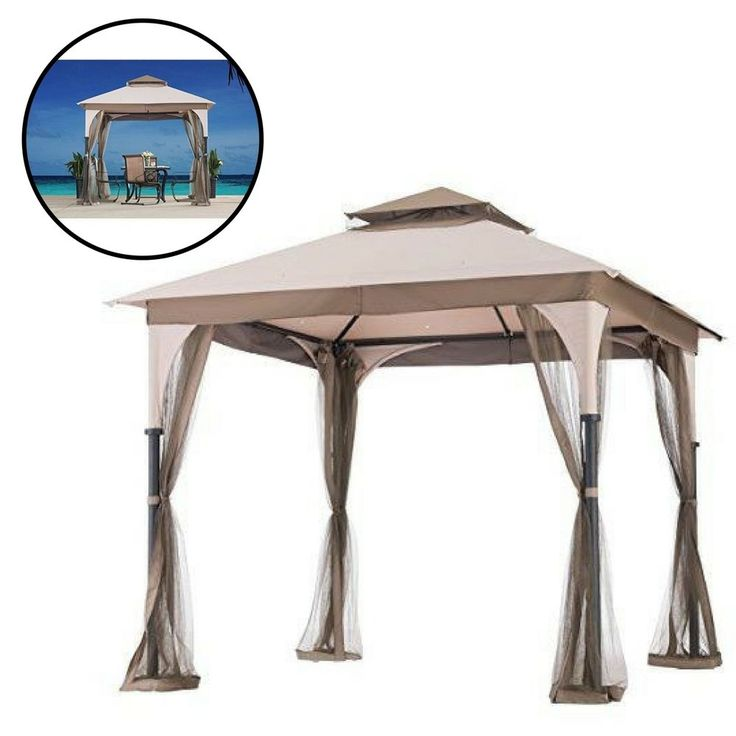 Gazebo Replacement Canopy 9X9 Patio Outdoor Garden Cover Sunshade Waterproof  #Unbranded