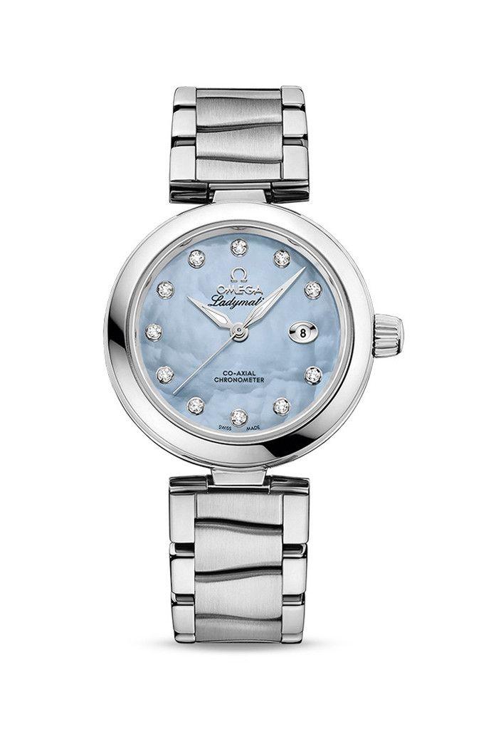 OMEGA De Ville Ladymatic Ladies Automatic Watch - £4,750.00 Blue Dial