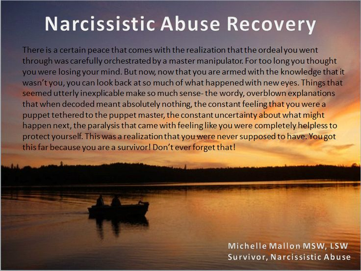 recognizing a narcissist relationship