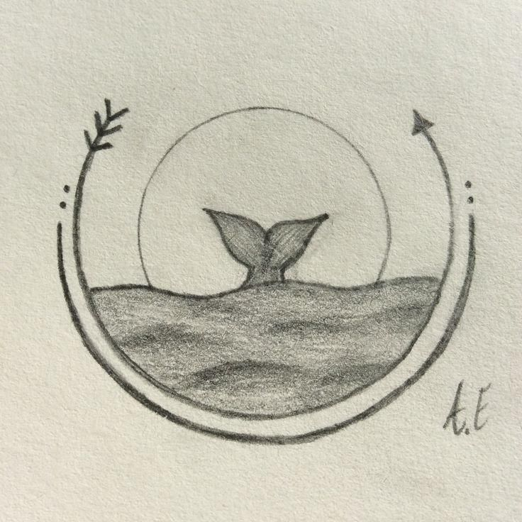 This Simple Drawing Idea Was Inspired By Many Different Pictures