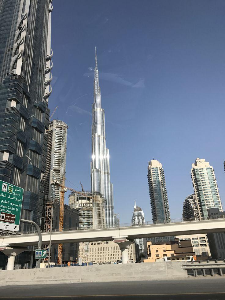 Burj Khalifa in Downtown Dubai. Wanderlust.