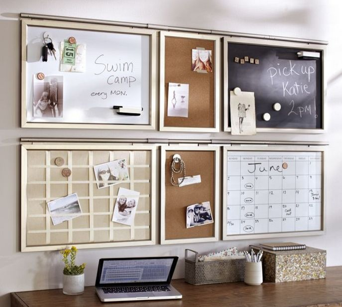 have this Pottery Barn daily system in my office. The dry erase ...