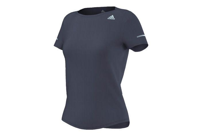 #Adidas Sequencials CC Run SS Tee W - koszulka z krótkim rękawem. Stworzona z oddychającej tkaniny, która odprowadza pot i nadmiar ciepła na zewnątrz. Skóra jest chroniona przed przegrzaniem i pozostaje sucha. Zapewnia optymalny i wysoki komfort oraz swobodę ruchu nawet podczas upalnych dni. #koszulka #jesienzima2015 #climalite #krotkierekawy