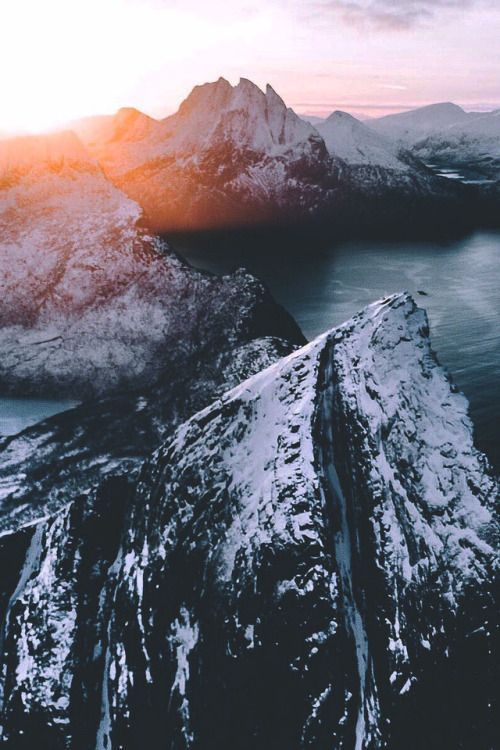 lsleofskye: Twilight | airpixels – #airpixels #lsleofskyeSenja #mountains