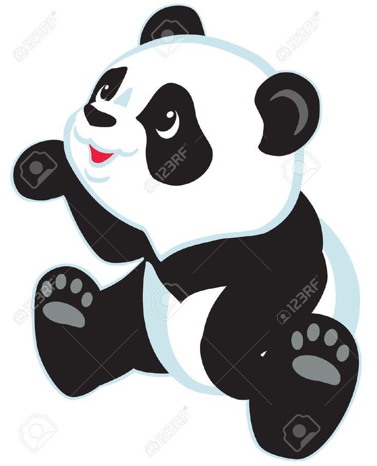 imagen de oso panda tierno