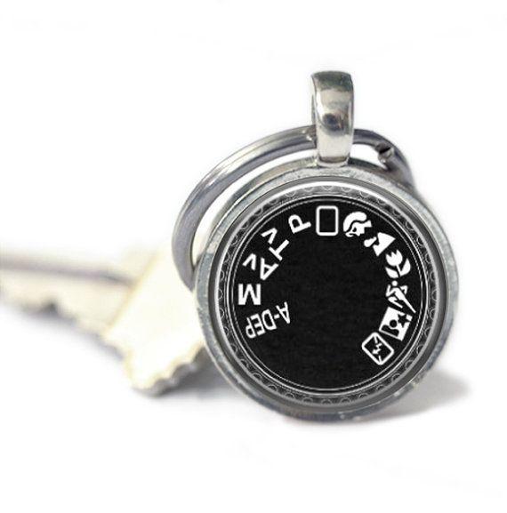 Kamera-Modus-Schlüsselanhänger