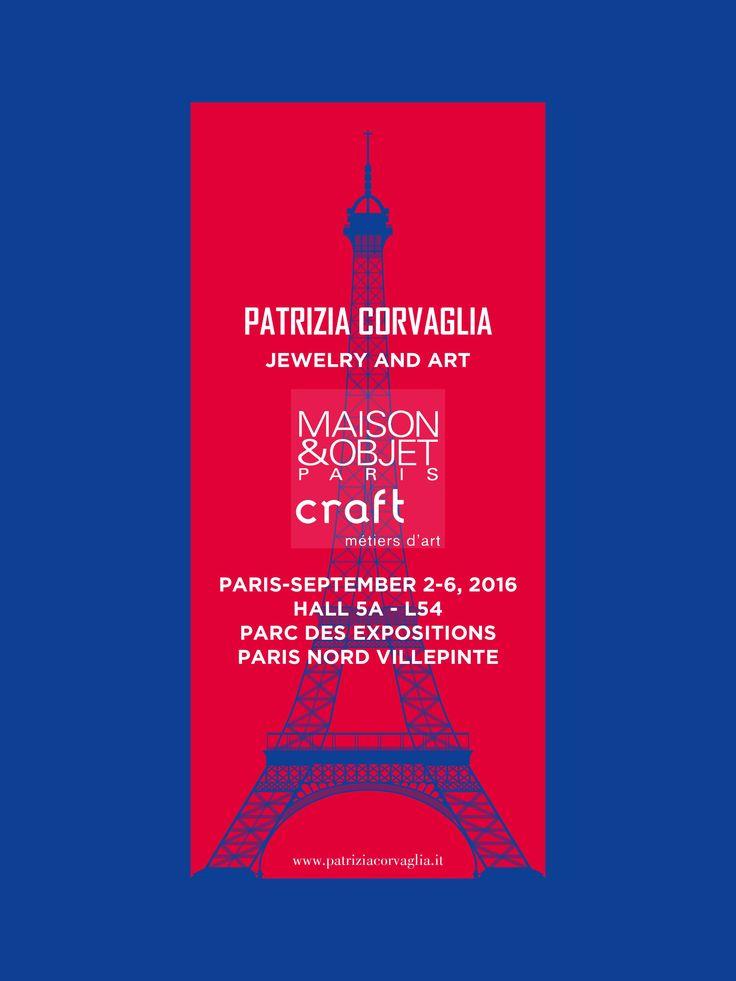 """""""Qualunque cosa sogni d'intraprendere, cominciala. L'audacia ha del genio, del potere, della magia. """" (Goethe) #patriziacorvagliagioielli #patriziacorvaglia #MaisonObjet #parigi #metierdart #craft #lusso #moda #eleganza #design #arredamento"""