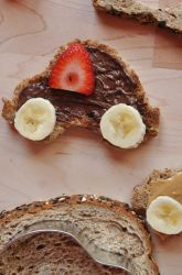 Preschool Snacks Activities: Fun Toast