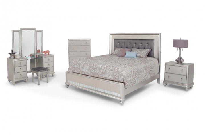 Diva 9 Piece Queen Bedroom Set