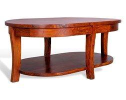 Stolik kawowy z litego drewna 46x110x70