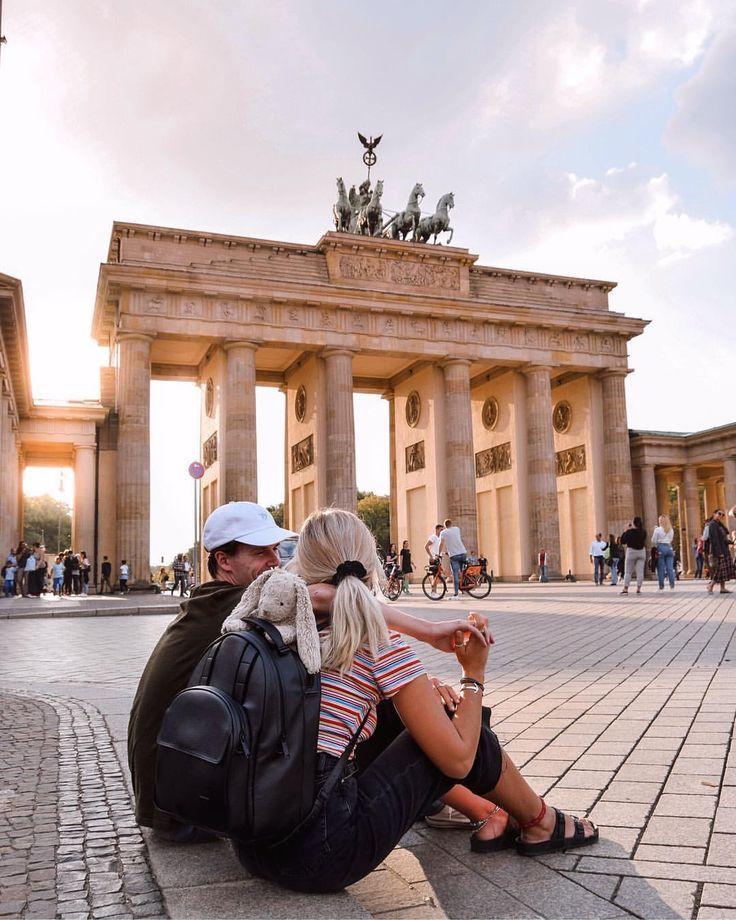 Brandenburg Gate Berlin Instagram Spots Berlin Traveling Europe Travel Couple Goals Wanderers Warriors C Berlin Travel Berlin Photography Europe Travel