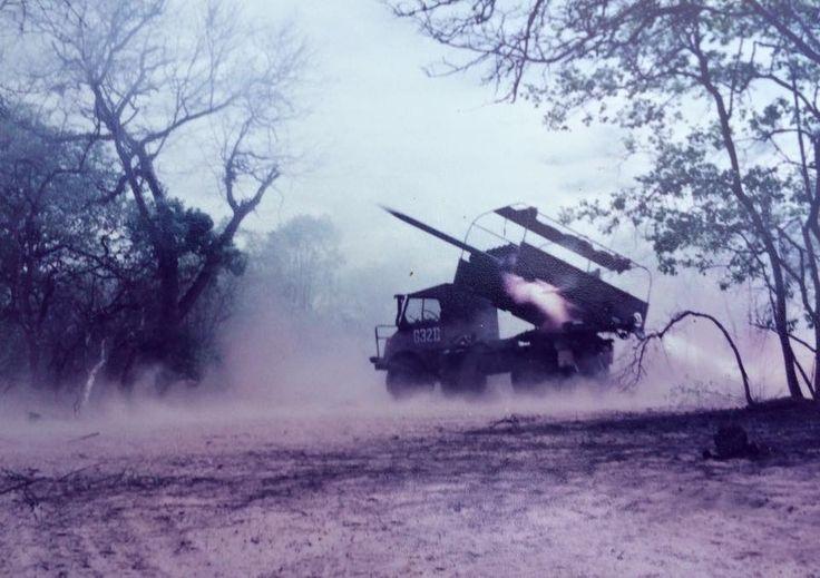 Valkiri firing those 127 mm rockets