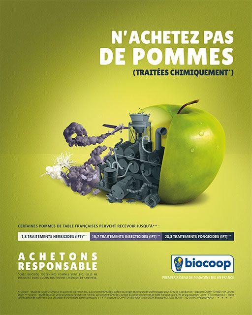 Campagne Biocoop - octobre 2014 -