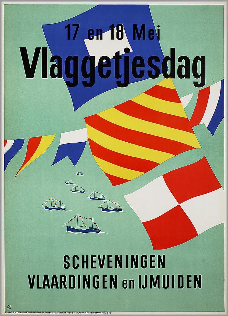 17 en 18 mei Vlaggetjesdag Scheveningen, Vlaardingen en IJmuiden